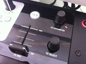 Numark NS6 effects section