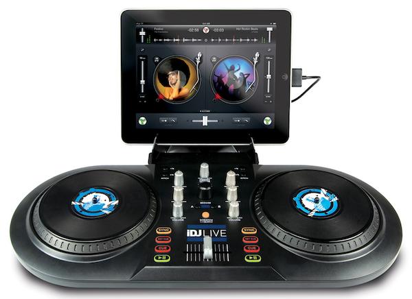 iDJ Live DJ Controller with algoriddim djay