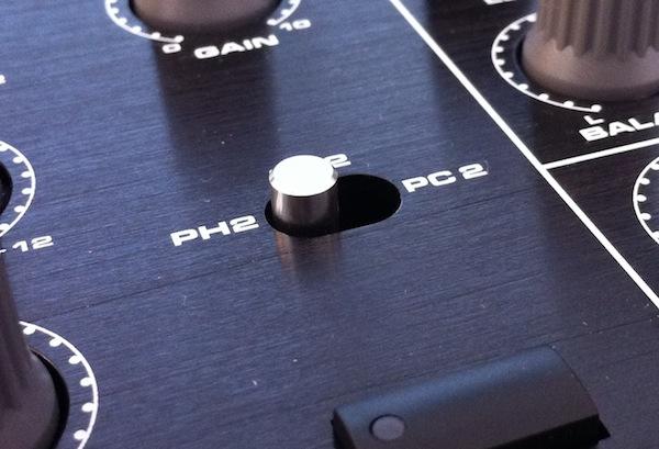 DJ-Tech X10 input selectors review