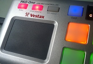 Vestax Pad One Review XY