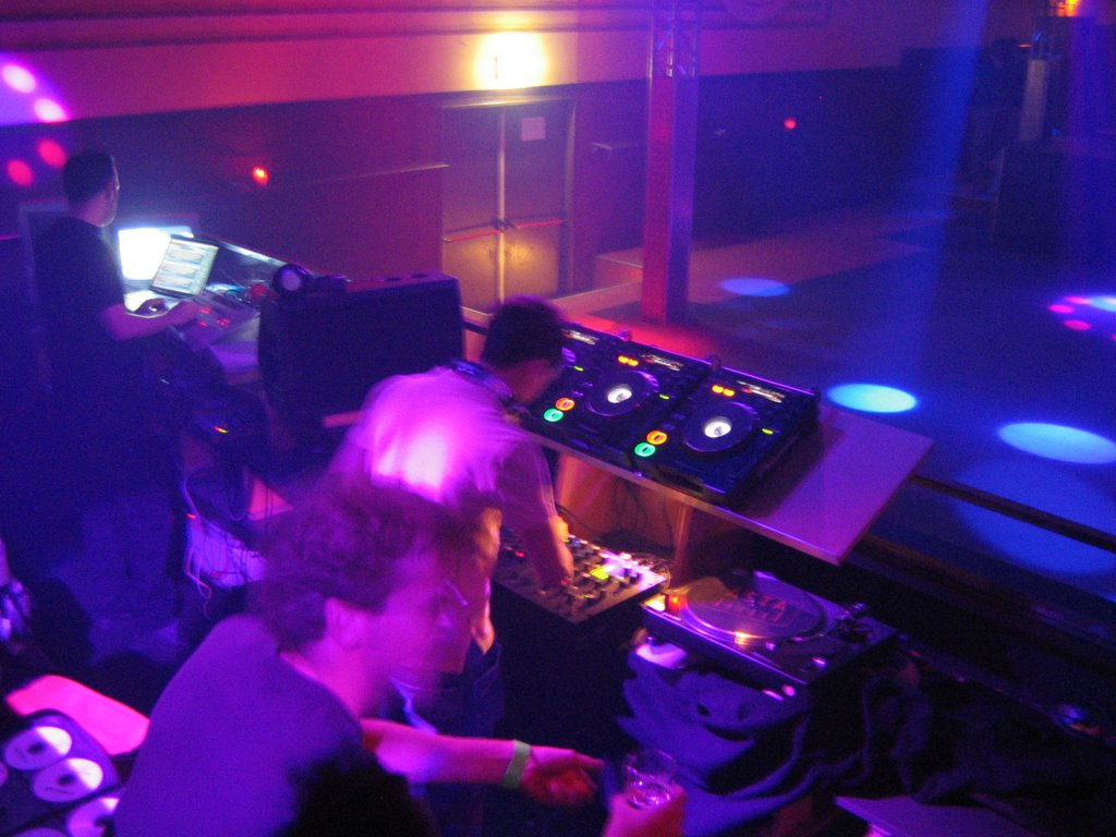 Setting up in a DJ booth with another DJ playing can be daunting, but a bit of knowledge and a lot of courtesy go a long way.