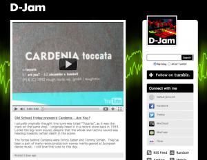 D-Jam's tumblr blog
