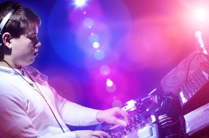 DJing in public