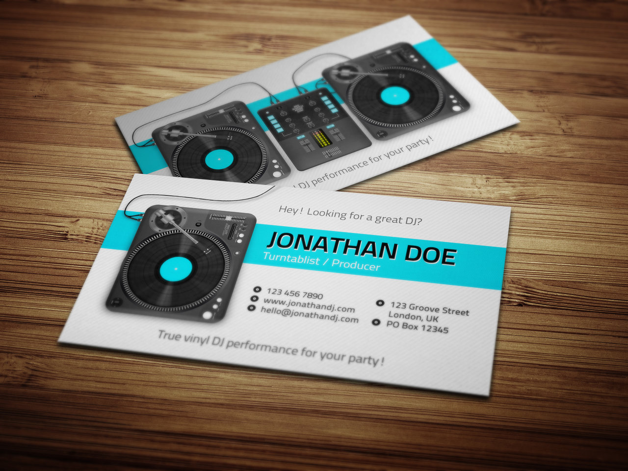 Djing business cards robertottni djing business cards flashek Image collections