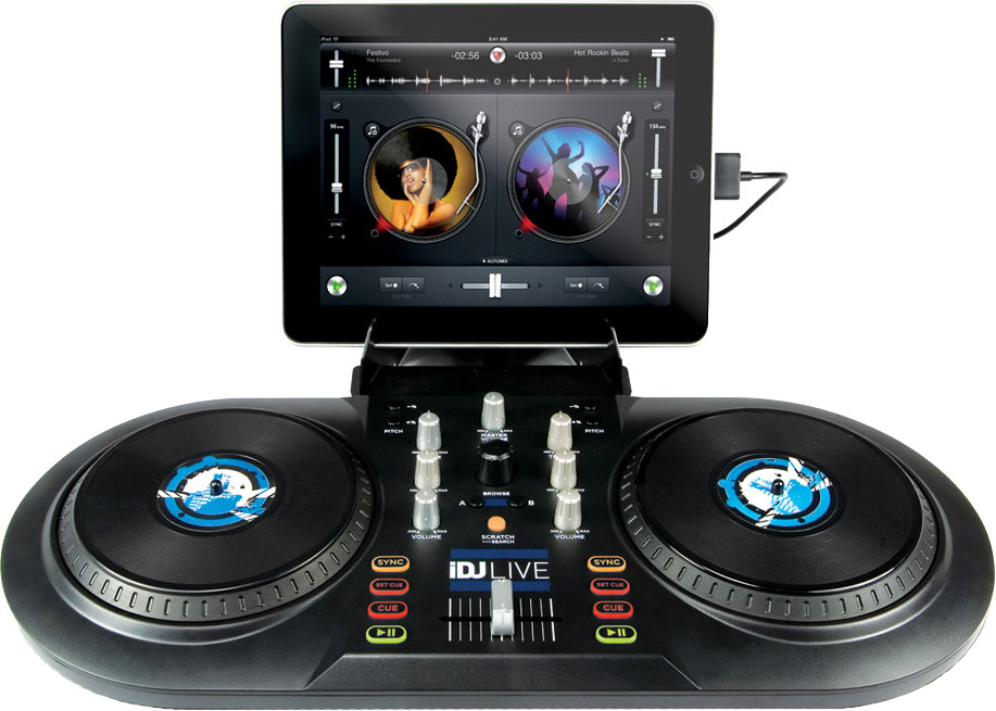 The iDJ Live is a neat-looking little iPad set-up... but how is it in practice? We find out.