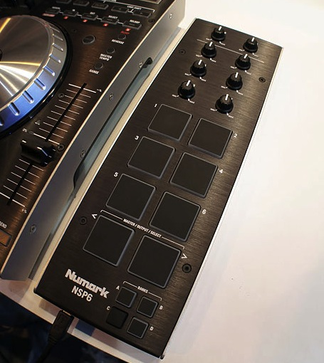 Numark NSP6: Sample player for Serato ITCH.