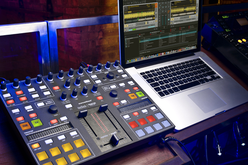 The Novation Twitch comes with an overlay and mapping for Traktor, although there are mixed reports about the quality of the supplied mapping. Pic: Zzsounds