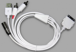 The Rolls Royce of iOS DJ cables, this one does everything!