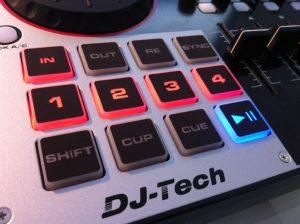 DJ-Tech 4Mix review pads
