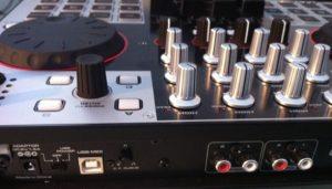 DJ-Tech 4Mix review rear