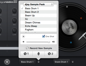 djay 4 For Mac samples