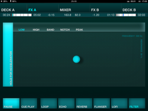 DJ Player Review FX Screenshot