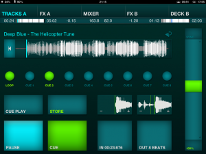 DJ Player Review Deck Screenshot
