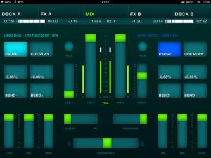 DJ Player Review Mix Screenshot