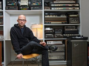 Moby's bedroom studio