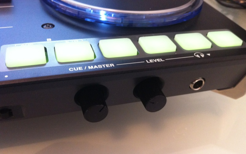 Vestax VCI-400 review - pads