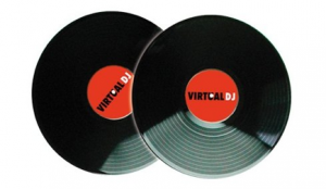 Virtual DJ timecode vinyl