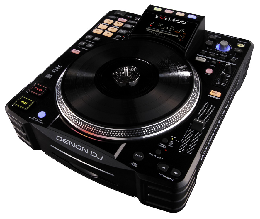 Denon SC3900 digital turntable and media controller