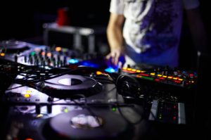 Digital DJ equipment