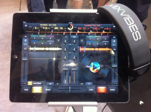 MixVibes on iPad