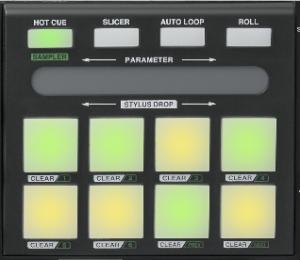 Vestax VCI-380 buttons