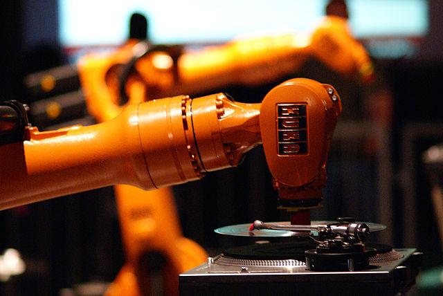 Industrial Robot DJ