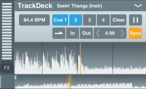 TrackDeck element