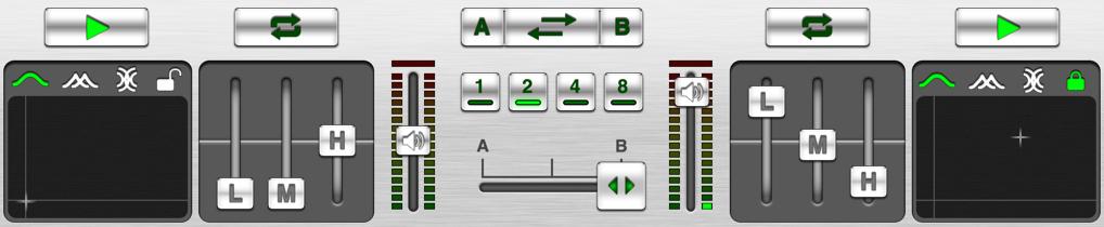 DJ Remixer2 - controls