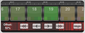 DJ Remixer2 - offset bar