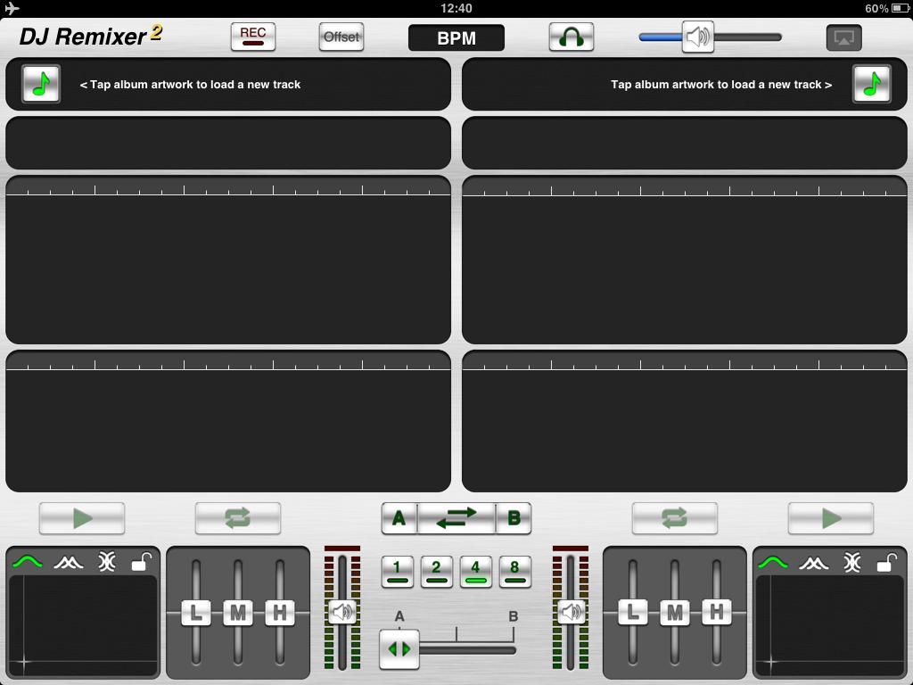 DJ Remixer 2 App For iPad