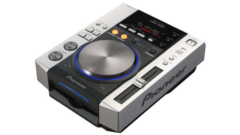 Pioneer's CDJ200: The lack of a USB option is causing problems for our reader.