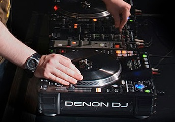 Denon DJ DC3900 set-up