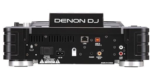 The Denon DJ SC3900 rear