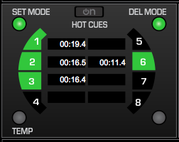 Virtual DJ SCS.3 hot cues