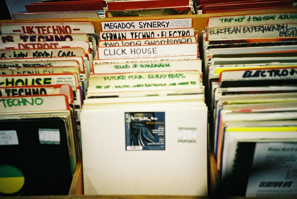 Record shopping