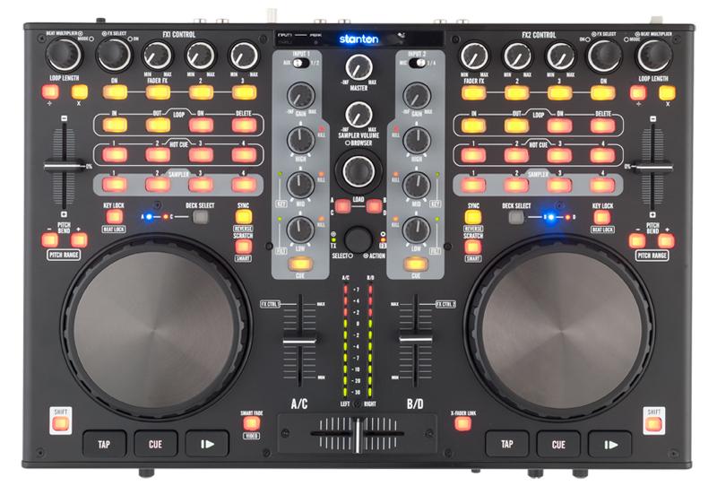 Review & Video: Stanton DJC 4 Virtual DJ Controller