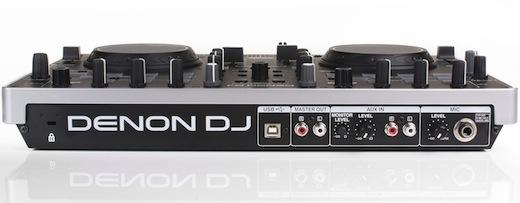 Denon DJ MC2000 rear