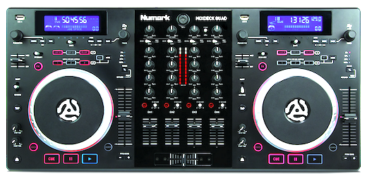Numark Mixdeck Quad top
