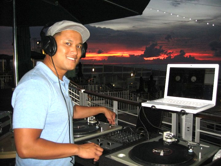 Cruise ship DJ