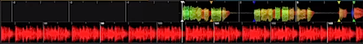 ITCH 2.0 coloured waveforms