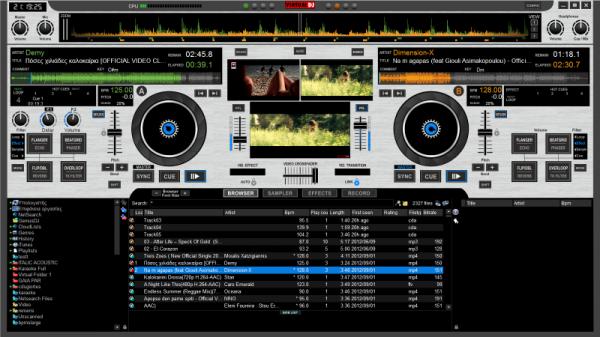 DJ Console RMX2 Virtual DJ skin
