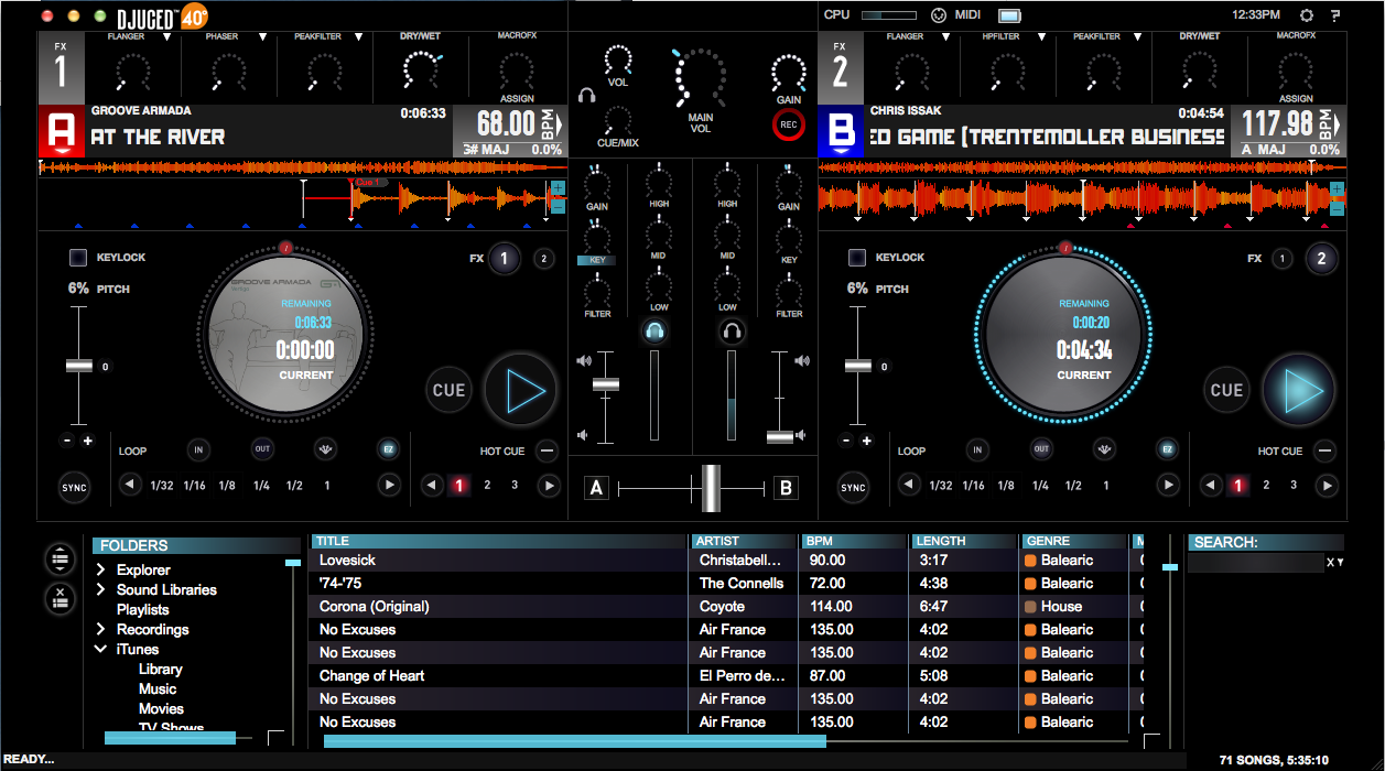 DJ Console RMX2 DJUCED 40º