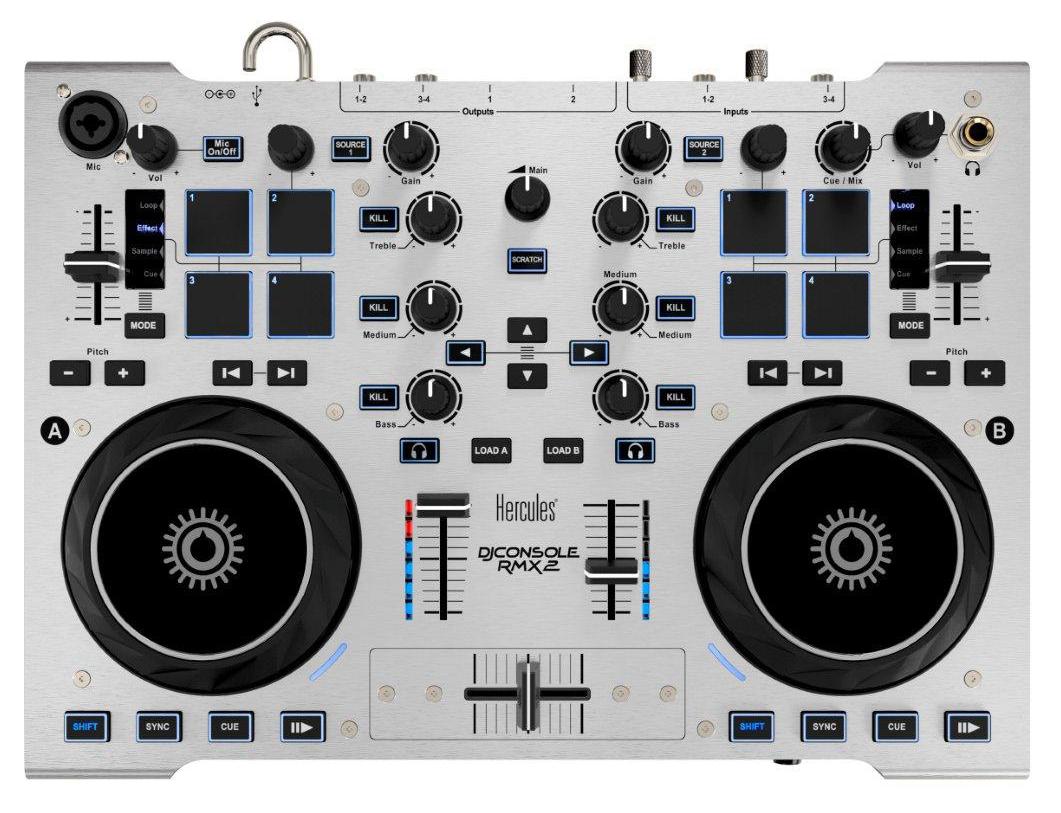 DJ Console RMX2 top panel