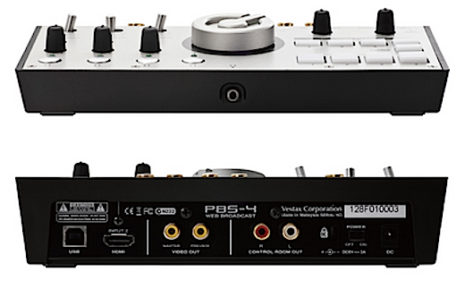 Vestax PBS-4 front & back
