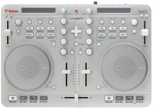 Vestax Spin2 top panel