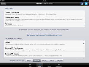 Flexible Output Options with DJ Player