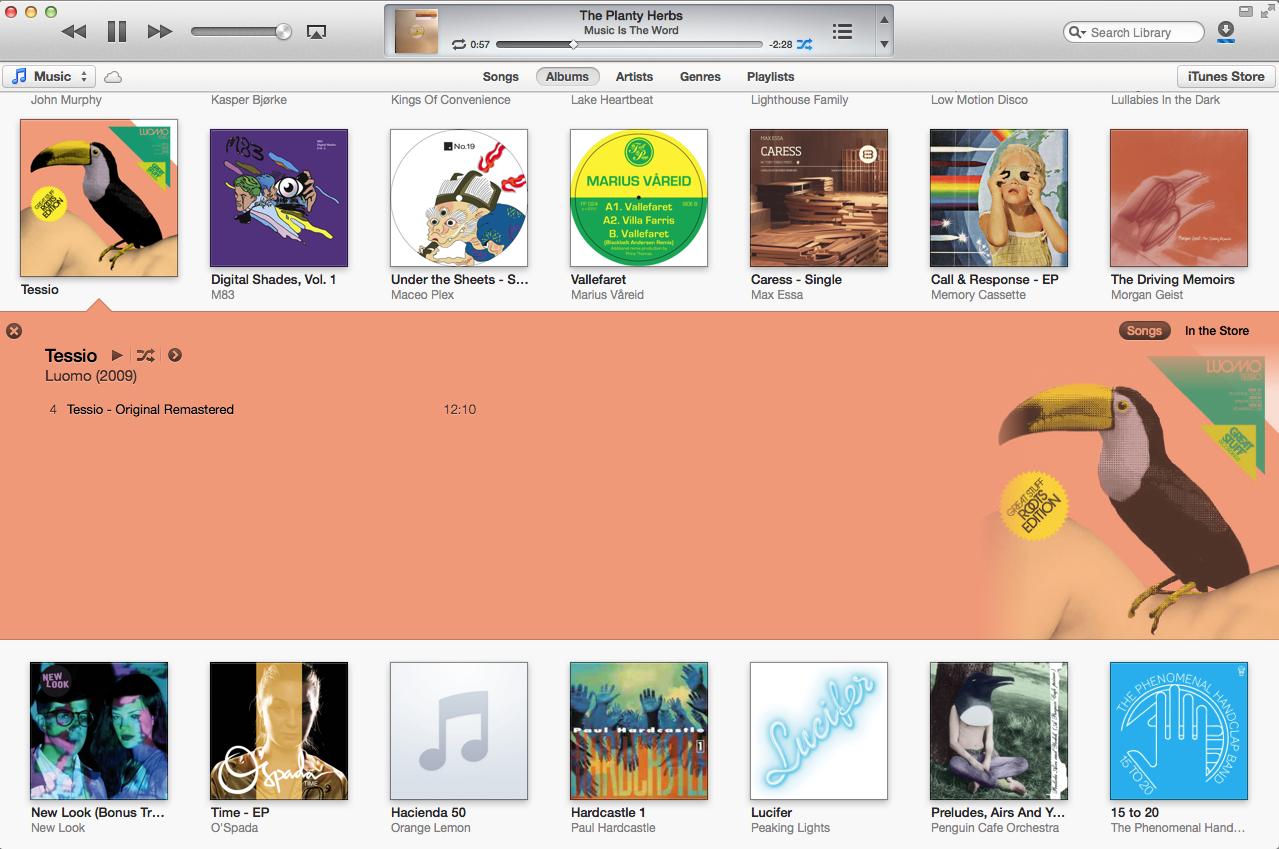 iTunes 11 for DJs