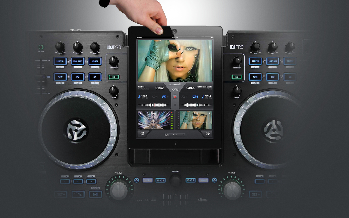 vjay for iPad gets iDJ Pro support