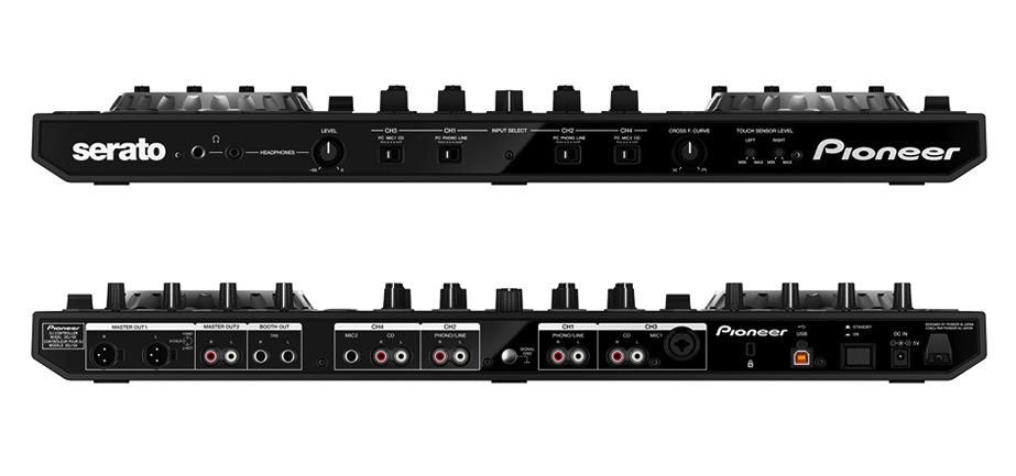 DDJ-SX front & back