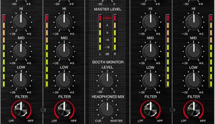DDJ-SX metering